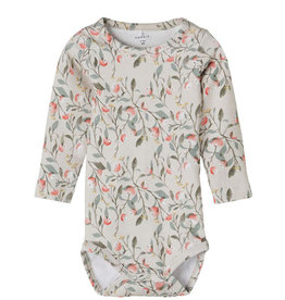 NAME IT HELENA BODY FLORAL - BEIGE