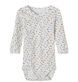 Janice Body Floral/White
