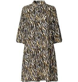 Taimi Dress Print Black