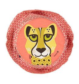 Coq en Pate Cheetah Sunhat Red