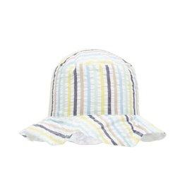 Hat White Stripe
