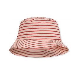 Konges Sløjd Cosa Bucket Hat Stripe/Red