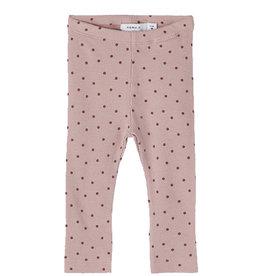 Jille Legging Mauve Dots