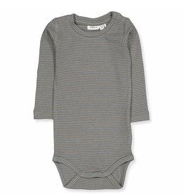 Lama LS Body Stripes Grey