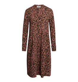 Dupina Dress Leopard/Pink