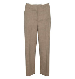Soaked in Luxury SOAKED IN LUXURY NAVYA SUITING PANT - BROWN