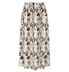 Misty Maxi Skirt Beige/Stains