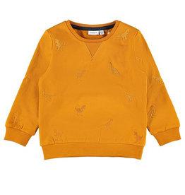 Lander Sweater Dino/Orange