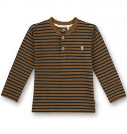 Sanetta LS Stripes Blue/Brown