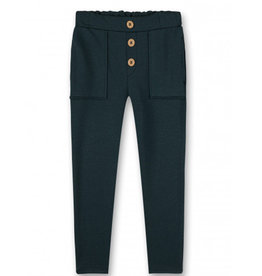 Sanetta Trousers Buttons Green