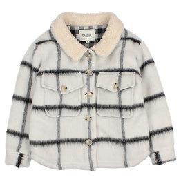 Buho Check Jacket Checkered/White