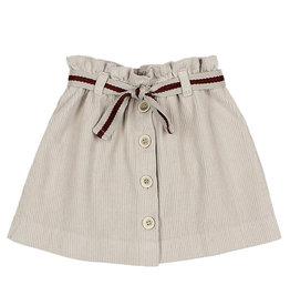 Buho Corduroy Skirt Beige