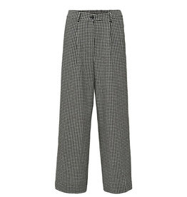 Selected Femme SELECTED FEMME CHARLIE PANT CHECKERED - BLACK