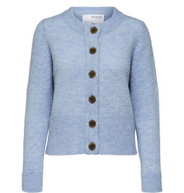 Selected Femme SELECTED FEMME SIA CARDIGAN - BLUE