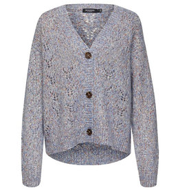 Soaked in Luxury SOAKED IN LUXURY ANABELLE CARDIGAN - BLUE NEPS