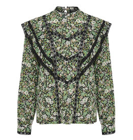 Soaked SOAKED IN LUXURY LIONA LS BLOUSE - FLORAL