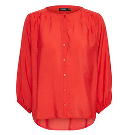 Soaked SOAKED IN LUXURY LEODORA BLOUSE - RED