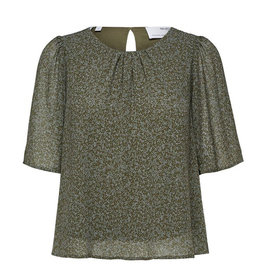 Selected Femme SELECTED FEMME GAIA TOP - GREEN