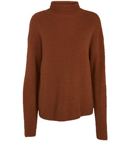 Basic apparel BASIC APPAREL IRENE SWEATER - BROWN