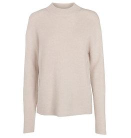 Basic apparel BASIC APPAREL IRENE CREW NECK  - WHITE