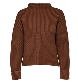 Selected Femme SELECTED FEMME SELMA KNIT - BROWN