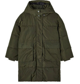 NAME IT MARY PUFFER JACKET - GREEN
