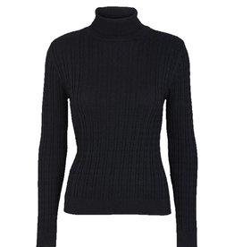 Basic apparel BASIC APPAREL ALINE KNIT - NAVY