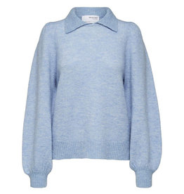 Selected Femme SELECTED FEMME SIA KNIT - BLUE