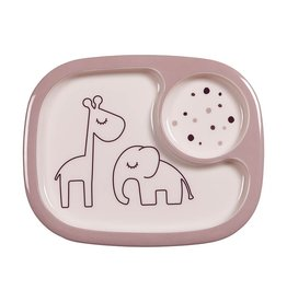 DONE BY DEER MINI PLATE COMPARTMENT - POWDER