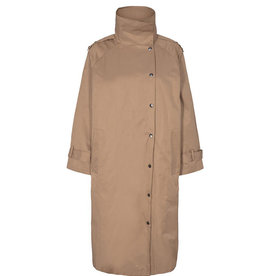 Co'couture CO'COUTURE FELICIA OVERSIZE COAT - BEIGE
