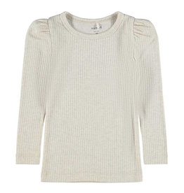 Nit NAME IT NIKKY TOP - BEIGE