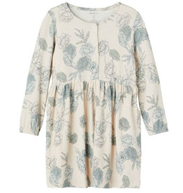 NAME IT NOLLA DRESS FLORAL - BEIGE