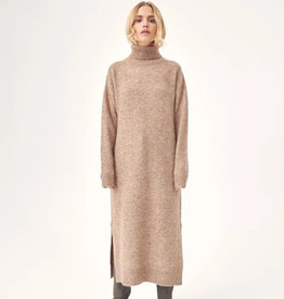 Aview A-VIEW PENNY KNIT DRESS - BROWN