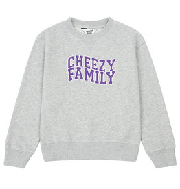 HUNDRED PIECES CHEEZY FAMILLY SWEATER - GRAY