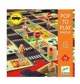 DJECO - POP TO PLAY PUZZLE