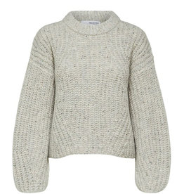 Selected Femme SELECTED FEMME CARA KNIT - GRAY