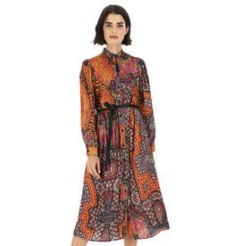 DIXIE FLORAL DRESS - MULTI