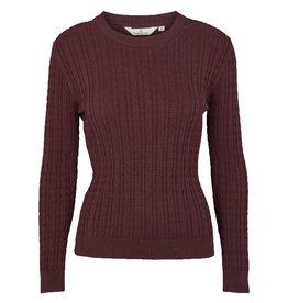 Basic apparel BASIC APPAREL ALINE SWEATER - BROWN