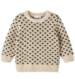 NAME IT OSMO KNIT - BEIGE