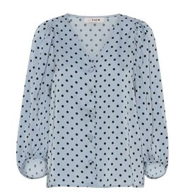 Aview A-VIEW ANJA BLOUSE - BLUE
