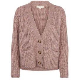 Basic apparel BASIC APPAREL LEONA CARDIGAN - ROSE