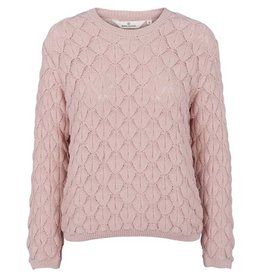 Basic apparel BASIC APPAREL MILLA SWEATER - ROSE