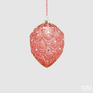 Enzo De Gaspari Decorative Christmas Ornament - Egg Shape (11cm)