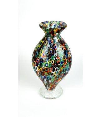 Murano Millefiori Mosaic Vase