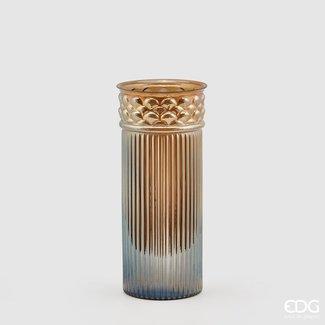 Enzo De Gaspari Transparant vase column H41 D18