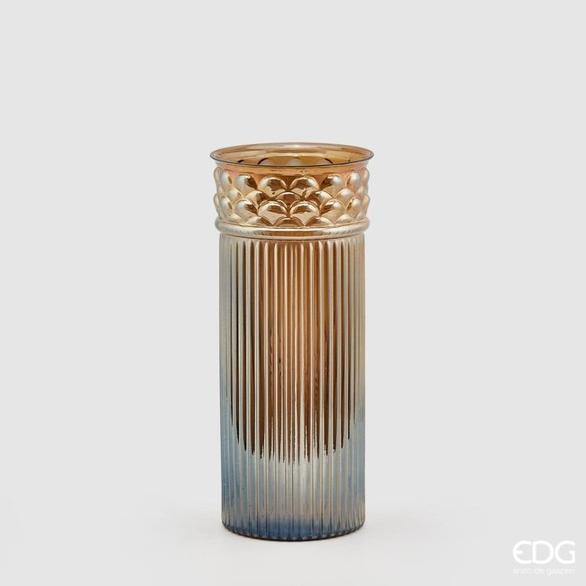 Transparant vase column H41 D18