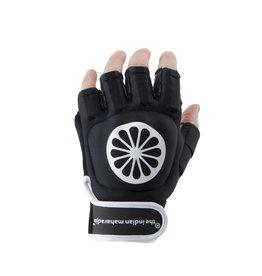 Indian Maharadja Glove shell half [left]-black-M