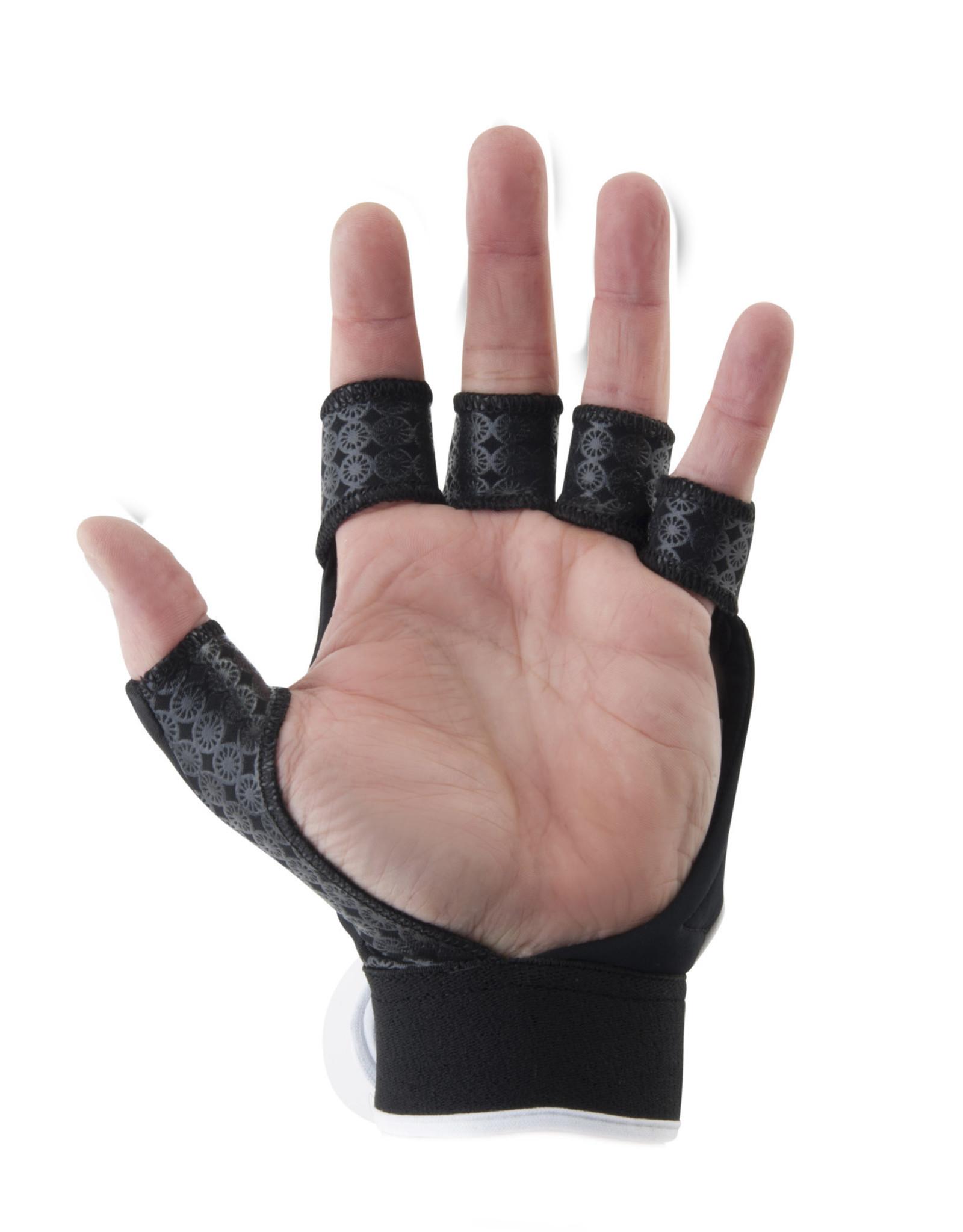 Maharadja Glove shell half [left]-black-L