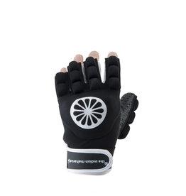 Indian Maharadja Glove shell/foam half [left]-black-M