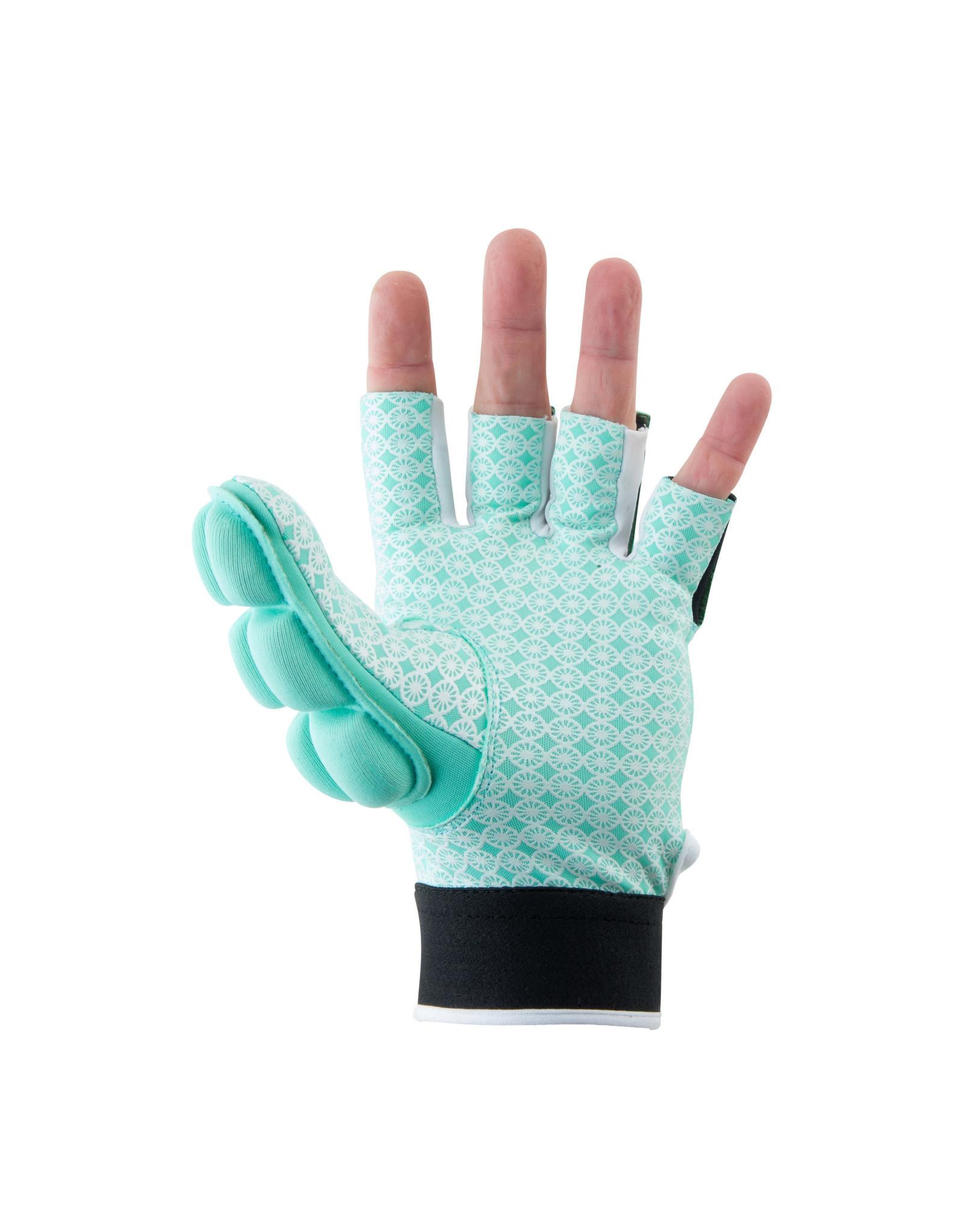 Indian Maharadja Glove shell/foam half [left]-mint-XS
